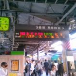 『中央本線特急・夕方以降新宿駅下りの観察。果たして自由席の混雑は?』の画像