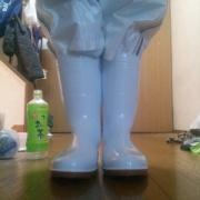長靴 白い