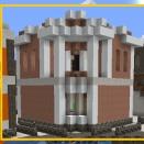 [街]  花崗岩の家の外観完成