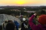 交野八景の1つ『交野山のご来光』に行ってみた!〜奈良方面からの見事な日の出〜