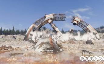 墜落した宇宙ステーション(Wastelanders前)