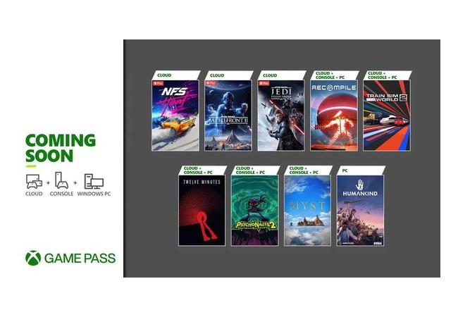 Xbox Game Pass、8月後半ラインナップ発表