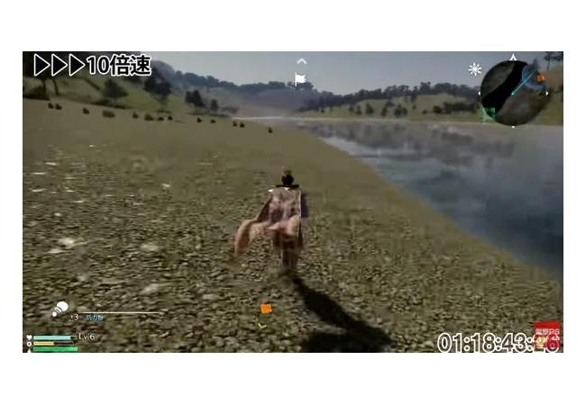 【真・三國無双8】移動だけで1時間40分の動画公開!端から端まで