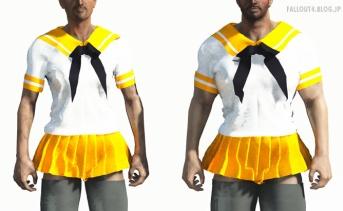 Shino School uniform Male Addon
