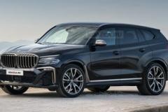 BMWの新型最高級SUV「X8」デザインリーク