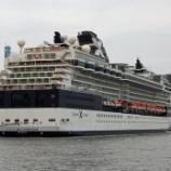 『セレブリティ・ミレニアム Celebrity Millennium [神戸ポートターミナル4Q1/4Q2を出港]』の画像