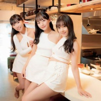 由良朱合、高崎かなみ、長澤茉里奈のセクシー水着カットに注目!『焼肉SPA!』1日店長のグラビアカットが公開