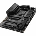 ブラックで統一した第3世代Ryzenに対応のマザーボード、MSI「MEG X570 UNIFY」が発売