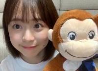 倉野尾成美ちゃんとおさるのジョージが似てる