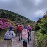 『ミヤマキリシマの雲仙岳へ』の画像