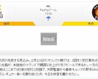 【虎実況】ソフトバンク 対 阪神 オープン戦(PayPay)[2/29]13:00~