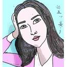 似顔絵・麻生久美子