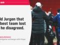 ◆プレミア◆モウリーニョ「クロップに最高のチームが負けたと言ったよ」…なお支配率24%で枠内2の模様