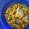 サラッと食べやすい鯖缶とゴーヤとレンズ豆のカレー