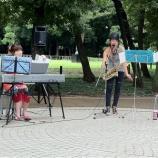『戸田市後谷公園街角広場コンサート、9月は11日の日曜日に開催です』の画像
