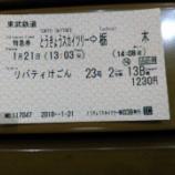 『東武の新型特急「リバティけごん」に乗車して栃木へ』の画像