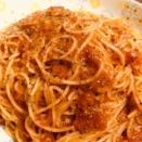 ポモドーロ トマトチーズソースのパスタ