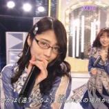 『【乃木坂46】若月佑美 スタジオライブで『メガネ』をかけていた理由・・・『乃木坂46SHOW!』』の画像