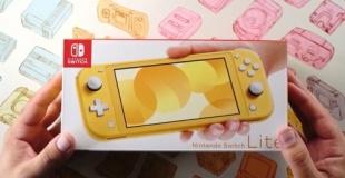本日発売!「Nintendo Switch Lite」の開封動画が続々と公開!