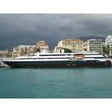 『フランス船籍 ル・レバン クルーズレポート スタート』の画像