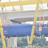 『【CAF】LRT Jabodebek第1編成搬入【INKA】』の画像