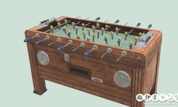 Vault-Tecのフーズボールテーブル