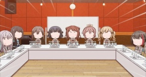【ガルパ☆ピコ】第7話 感想 各バンド集合!やっぱり収拾つかない
