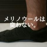 『【ワークマン】メリノウールソックスを2ヶ月履きまくった結果…!【レビュー】』の画像