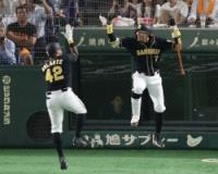 阪神ソラーテ.333(18-6)3本6打点OPS1.257 ←ようやく