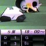 『(番外編)千葉マリンの試合をテレビ観戦』の画像