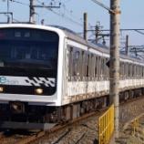 『mue trainのTK入場と回送幕』の画像