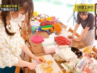 【悲報】与田祐希さん、包丁を使ってる人の後ろで一輪車に乗って遊んでしまう...