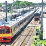 『極太帯!!東急8500系8610Fデポック電車区へ臨時回送(9月22日)』の画像