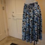 『DUAL VIEW(デュアルヴュー)ボタニカルプリントフレアスカート』の画像