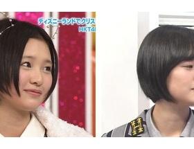 【悲報】HKT48兒玉遥さん、鼻の整形がバレる