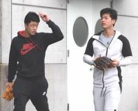 【阪神】ドラ2小幡ら休日返上 打撃練習やウエートで汗