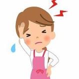 『台風接近に伴う頭痛と不調』の画像