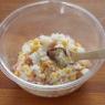 チーズの羽根付き ハムコーンおにぎり 栄養価の高いのに美味しい「金芽米」で