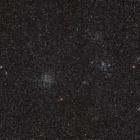 『南天の二重星団とも座のM46&M47』の画像