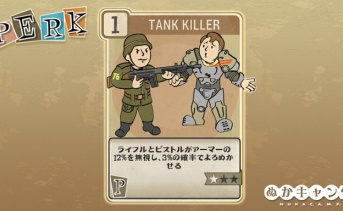 Fallout 76:Tank Killer(Perception)