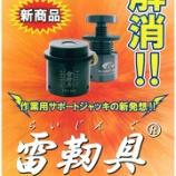 『【新商品】雷靭具(らいじんぐ)@カネテック㈱【補用機器】』の画像