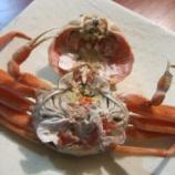 『いつの間にか蟹の季節がやってきていました』の画像