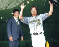 阪神・藤川球児、五輪史上最年長40歳侍が浮上 稲葉監督「経験は大きい」