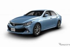 トヨタ デザインを一新したFRセダン『マークX』発表! 265万6800円から