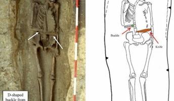 【サイボーグ?】右腕にナイフの義手を装着した遺体 1500年前のイタリアで発見