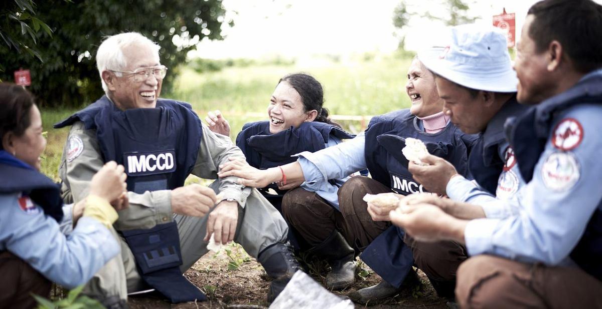 認定NPO法人国際地雷処理・地域復興支援の会(IMCCD) イメージ画像