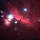 『オリオン座の馬頭星雲(IC434)』の画像