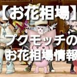 『【お花相場】プクモッチのお花相場1/13』の画像