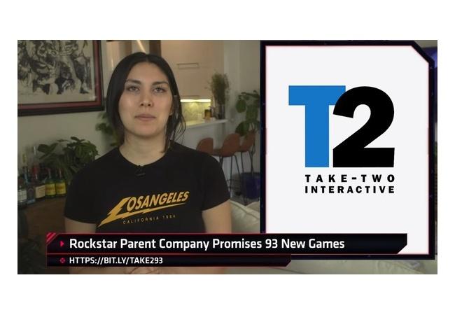 GTA開発元ロックスター社、5年間で93本のゲームを販売することを発表。ゲームラッシュクル――(゚∀゚)――!!