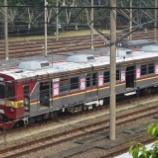 『東急8500系も廃車回送準備!!デポック電車区橋の上、6月上旬の様子』の画像